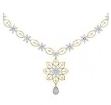 Diamond Necklace 2.09 CT / 14.19 gm Gold