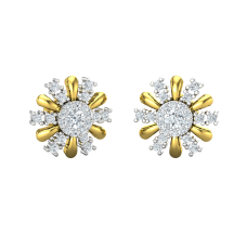 Diamond Earrings 0.56 CT / 3.72 gm Gold