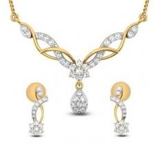 Diamond Tanmaniya Set  0.77 CT / 4.06 gm Gold