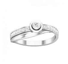 Diamond Ring 0.21 CT / 2.35 gm Gold