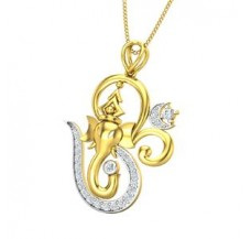 Diamond Pendant 0.32 CT / 3.20 gm Gold