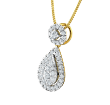 Diamond Pendant 0.59 CT / 1.75 gm Gold