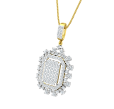 Diamond Pendant 1.47 CT / 4.50 gm Gold