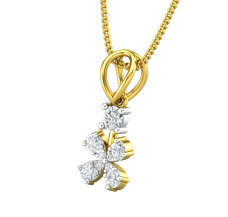 Diamond Pendant 0.19 CT / 0.76 gm Gold