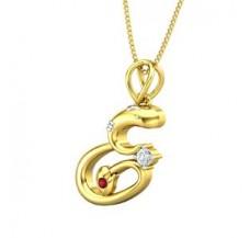 Diamond & Gemstone Pendant 0.06 CT / 2.88 gm Gold