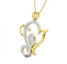 Diamond Pendant 0.41 CT / 3.00 gm Gold