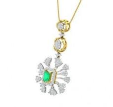 Diamond & Gemstone Pendant 1.73 CT / 6.82 gm Gold