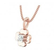 Diamond Pendant 0.065 CT / 0.60 gm Gold