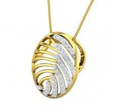 Diamond Pendant 0.36 CT / 3.41 gm Gold