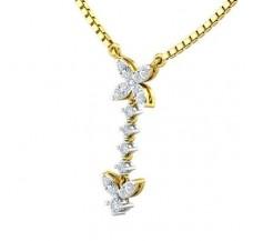 Diamond Pendant 0.27 CT / 1.11 gm Gold