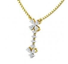 Diamond Pendant 0.36 CT / 1.21 gm Gold