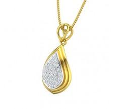 Diamond Pendant 0.29 CT / 1.66 gm Gold