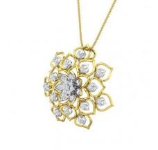 Natural Diamond Pendant 0.69 CT / 5.20 gm Gold