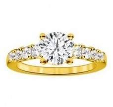 Diamond Solitaire Ring  0.54CT / 5.13 gm Gold