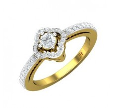 Natural Diamond Solitaire Ring 0.49 CT / 2.15 gm GOLD