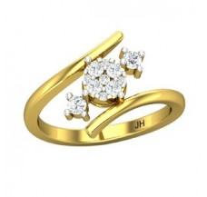 Diamond Ring 0.32 CT / 3.72 gm Gold