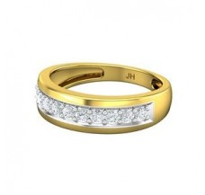Diamond Band for Men 0.65 CT / 5.04 gm Gold