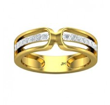 Natural Diamond Band for HER 0.28 CT / 3.60 gm Gold
