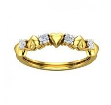 Diamond Heart Ring 0.20 CT / 2.41 gm Gold