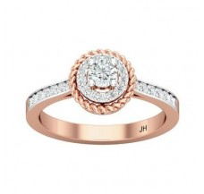 Natural Diamond Ring 0.44 CT / 3.65 gm Gold