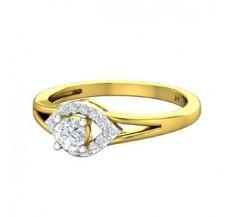 Diamond Ring 0.39 CT / 2.75 gm Gold