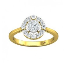 Diamond Ring 0.30 CT / 2.90 gm Gold