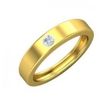 Natural Diamond Band for HER 0.09 CT / 3.20 gm Gold