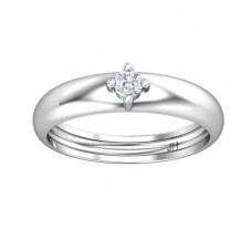 Natural Diamond Band for Men 0.15 CT / 4.00 gm Gold