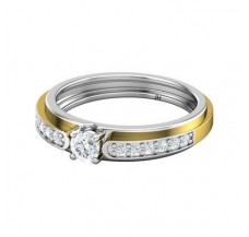 Natural Diamond Band for HER 0.36 CT / 3.40 gm Gold