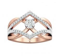 Diamond Ring 0.56 CT / 4.80 gm Gold