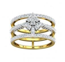 Diamond Ring 0.77 CT / 5.22 gm Gold