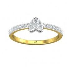 Diamond Ring 0.30 CT / 1.95 gm Gold