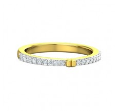 Natural Diamond Ring 0.18 CT / 2.75 gm Gold