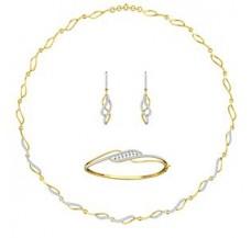 Diamond Necklace Full Set