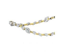 Natural Diamond Bangles 1.95 CT / 13.84  gm Gold