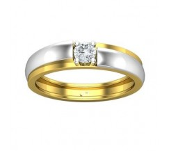 Natural Diamond Band for HER 0.19 CT / 4.30 gm Gold