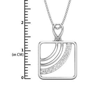 Natural Diamond Pendant for Men 0 13 CT / 2 00 gm Gold