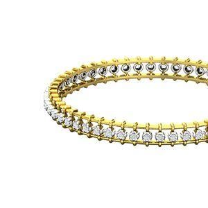 2ff38688ec Natural Diamond Bangles 1.19 CT / 18.00 gm GoldRs 1,42,327Rs 1,27,312