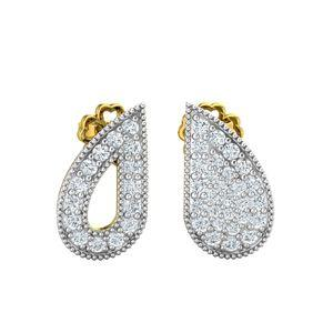 57c19ad5d Buy Diamond Earrings 0.43 CT / 2.40 gm Gold Online at Lowest Price in India