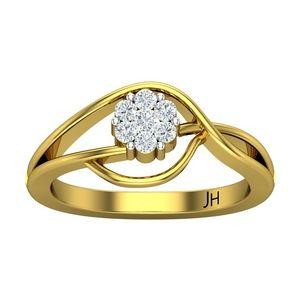 92b7f1843 Buy Natural Diamond Ring 0.15 CT / 2.45 gm Gold Online at Lowest ...