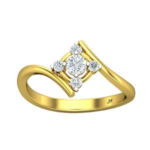 342b5e104 Buy Diamond Ring 0.43 CT / 2.10 gm Gold Online at Lowest Price in India