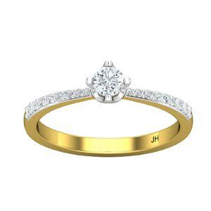 4030c65b0 Buy Natural Diamond Ring 0.43 CT / 2.56 gm Gold Online at Lowest ...