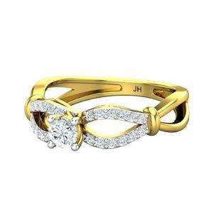 9c6492b4b Buy Diamond Ring 0.43 CT / 2.55 gm Gold Online at Lowest Price in India