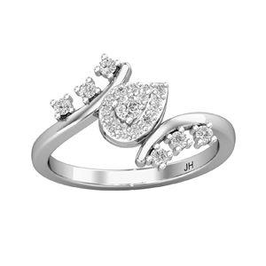 9ebe7d160 Buy Natural Diamond Ring 0.32 CT / 3.00 gm Gold Online at Lowest Price in  India