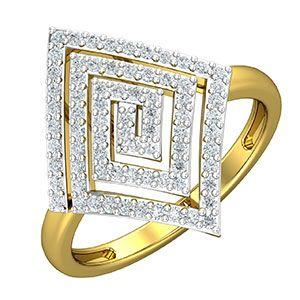 e2839dcd6 Buy Diamond Ring 0.46 CT / 4.20 gm Gold Online at Lowest Price in India