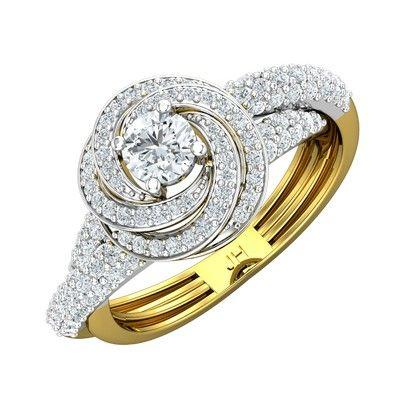 cc003e01bef PreSet Natural Solitaire Diamond Ring 1.12 CT / 5.63 gm GoldRs 1,70,079Rs  1,40,383