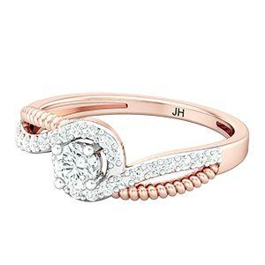 900ba42f3 Buy Diamond Ring 0.49 CT / 3.65 gm Gold Online at Lowest Price in India